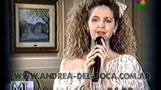 """Video ANDREA DEL BOCA cantando """"Te amo"""" MP3, 3GP, MP4, WEBM, AVI, FLV Juli 2018"""