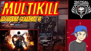 how to melee kill and multi kill in modern combat 5 sandstorm video is made by useing screen cast in moblie