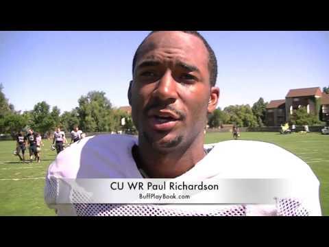 Paul Richardson Interview 8/28/2013 video.