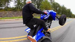 10. 2019 YFZ 450 WHEELIES!