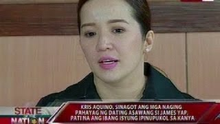 Video SONA: Panayam ni Jessica Soho kay Kris Aquino ukol sa iringan nila ni James Yap MP3, 3GP, MP4, WEBM, AVI, FLV Mei 2018