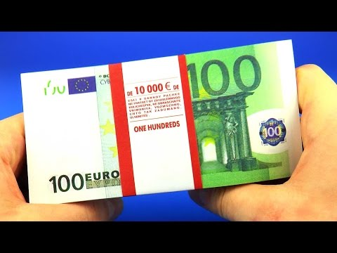 10,000 € ASMR Money Counting Page Turning Paper Rustling Relaxation Meditation Binaural