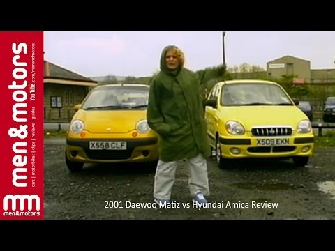 2001 Daewoo Matiz vs Hyundai Amica Review