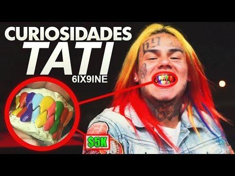 Video CURIOSIDADES de 6IX9INE - Tati feat. DJ SpinKing download in MP3, 3GP, MP4, WEBM, AVI, FLV January 2017
