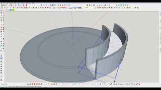 Video SketchUp : Build a Semi Circular Ramp MP3, 3GP, MP4, WEBM, AVI, FLV Desember 2017
