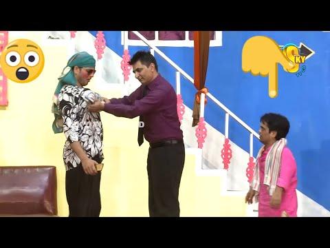 Vicky Kodu and Amjad Rana | New Stage Drama | Aao Pyaar Karein | Comedy Clip | Punjabi Stage Drama