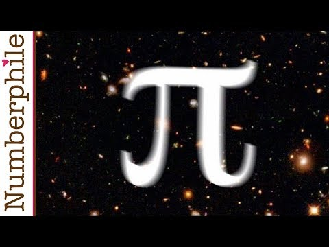 Pi and the size of the Universe – Numberphile