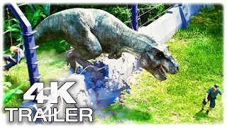 JURASSIC WORLD EVOLUTION Trailer #1 NEW (2018) Jurassic Park 4K ULTRA HD