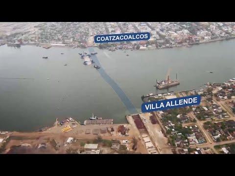 El primer túnel sumergido de Latinoamérica, en Coatzacoalcos, México