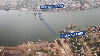 Coatzacoalcos Mexico  city pictures gallery : El primer túnel sumergido de Latinoamérica, en Coatzacoalcos, México