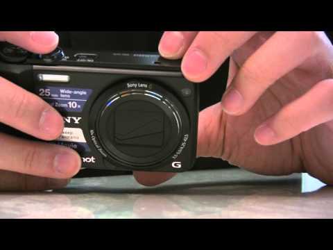 SONY DSC-H70 UNBOXING
