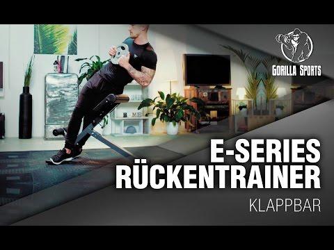 E-Series Rückentrainer klappbar