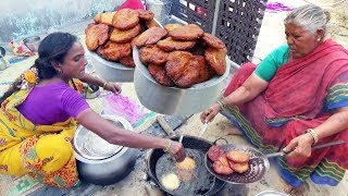 Hard Working Andhra Women's Manages All | Traditional Andhra Sweet | Village Sweets | Ariselu