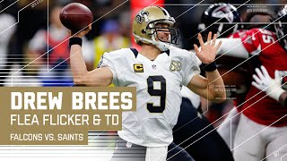 Flea Flicker Bomb Sets Up Drew Brees TD Pass to Coby Fleener! | Falcons vs. Saints NFL by NFL