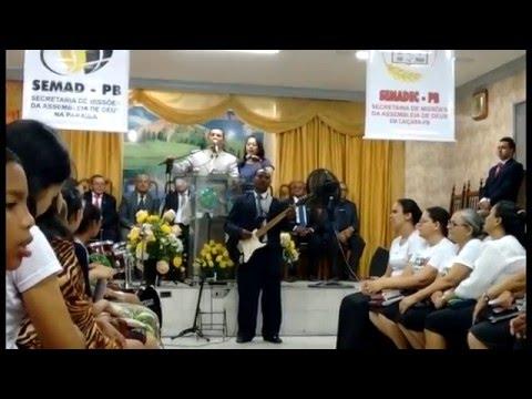 MISSIONÁRIO ELIVALDO MENDES CULTO DE MISSÕES NA AD. EM CAIÇARA - PB - RENOVA - ME