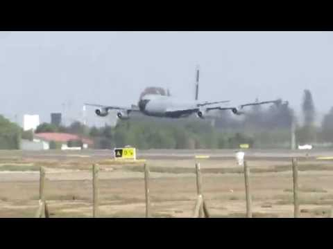 KC-135  Low Pass FACH 983