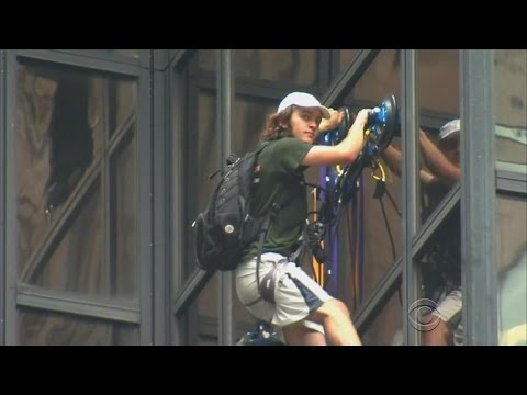 Man climbs Trump Tower in NYC