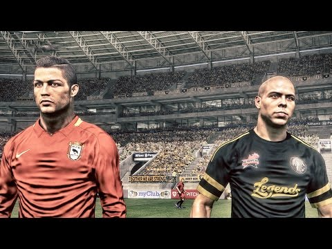 PES 2017 (PS4) - World Classic Legends vs World AllStars 2017