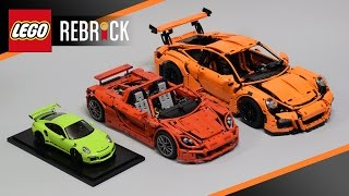 "I proud to say I'm one of the 10 winners in the ""Build Your Dream LEGO Technic Porsche"" contest!Prizes list:- Winner sertificate with LEGO border- One minifigure ""Rebrick winner""- Scale model Porsche 911 GT3 RS (Spark) scale 1:18- LEGO Technic 42056 set with Uwe Wabra sign on the cover- Special box for 42056 Porsche 911 GT3 RSContest site:http://www.lego.com/en-us/rebrick/contest-page/contests/the-lego-technic-ultimate-contest"