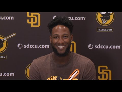Padres' Jurickson Profar on comfort with new team, hitting cleanup and more