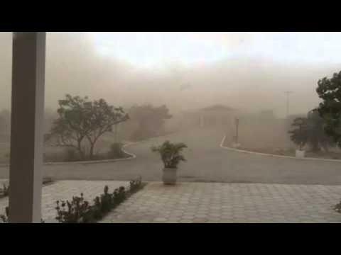 TV + Pajeú: Tempestade de Areia em Tuparetama-Parte 3