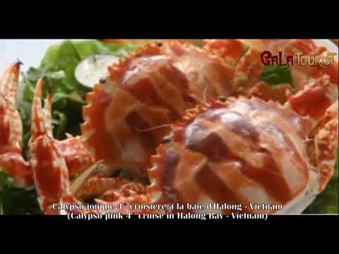 Calypso jonque croisière baie d'Halong (Calypso junk cruise - Galatourist)