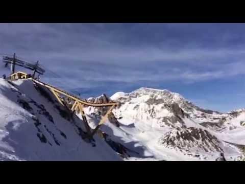 Bungee Jumping Snowboard Ramp