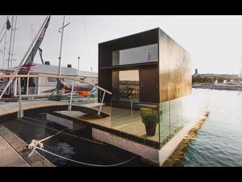 Economica, trasportabile e anche galleggiante: ecco la casa dei sogni che si costruisce in un giorno
