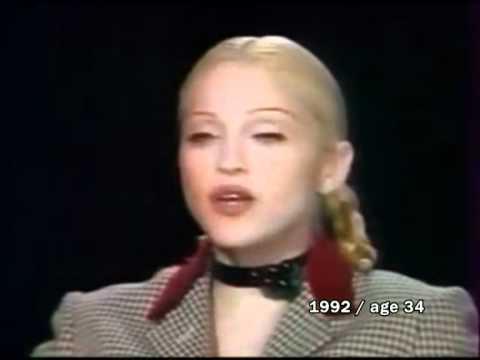 Madonna: face change 1983-2010
