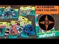 WOLFCRAFT , ACCESORIOS Y CEPILLOS DE TALADRO PARA METAL,PINTURA,MADERA,ETC....