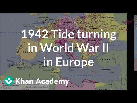 1942 Tide Turning In World War Ii In Europe Video Khan Academy