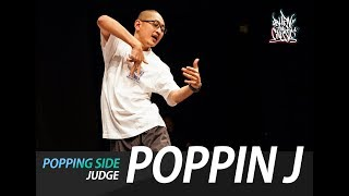 Poppin J – Burn the classic 2019 the final Popping judge show