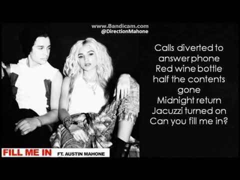 Tekst piosenki Austin Mahone - Fill Me In po polsku