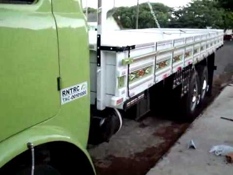 O Caminhão do meu Pai depois da reforma D11000 Ano 72 ( FNM do Chiréia ) Part 2