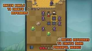 Pixel Defenders Puzzle DEMO YouTube video