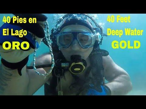 South Lake Tahoe Scuba Diving GOLD & SILVER Found !! Buceando y Encontrando ORO Y PLATA ! !!_Búvárkodás. Heti legjobbak