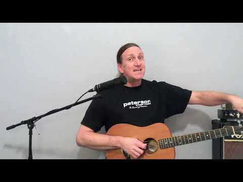 How to tune a acoustic guitar by country, pop and rock guitar tech