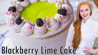 Ultimate Blackberry Lime Cake by Tatyana's Everyday Food