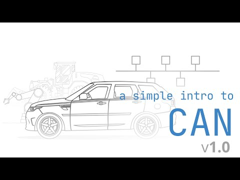 CAN Bus Explained - A Simple Intro (2018)