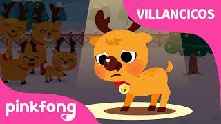 El Reno de Nariz Roja Rodolfo  Villancicos de Navidad  Pinkfong Canciones Infantiles