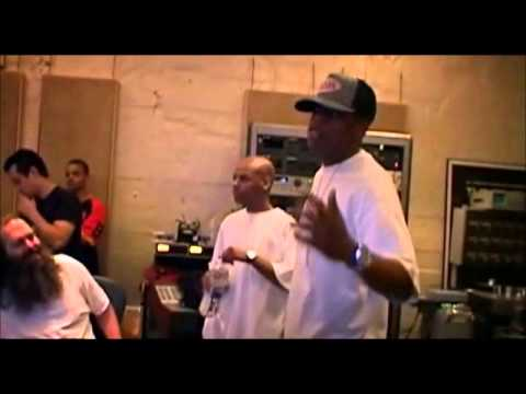 recording - Jay-Z, Rick Rubin recording 
