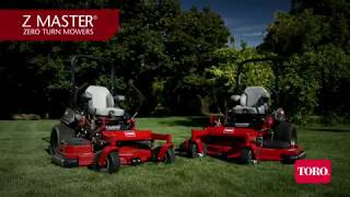 9. Toro Z Master® 5000 Series Rear Discharge Zero Turn Mowers