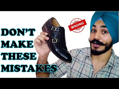 Video Biggest Shoes MISTAKES Guys Make | Santwinder download in MP3, 3GP, MP4, WEBM, AVI, FLV January 2017