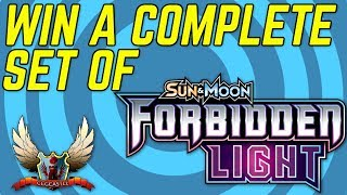 WIN A COMPLETE SET OF FORBIDDEN LIGHT POKEMON CARDS!!! by The Pokémon Evolutionaries