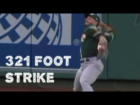 MLB Outfield Absolute Missile Throws Part 2