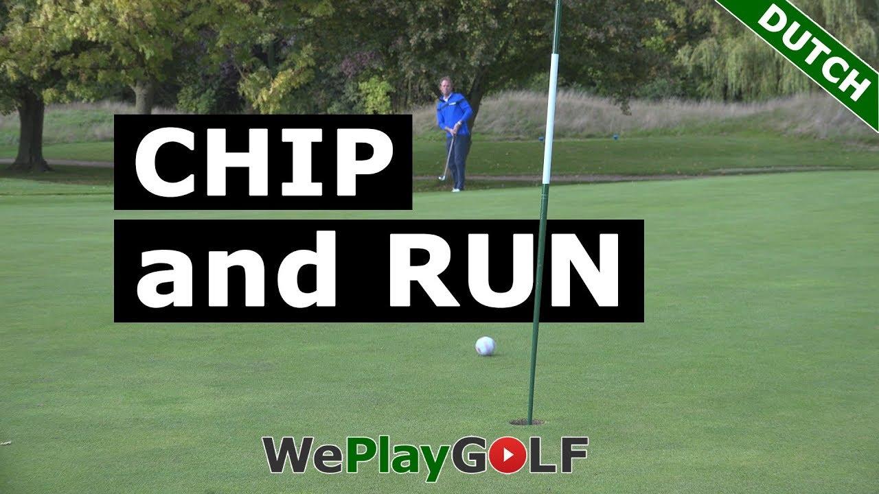 Chip and run: Hoe werkt het en wanneer gebruik je deze slag in golf?