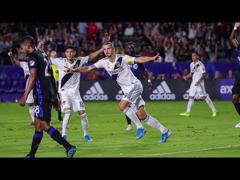 Video: GOAL: Zlatan Ibrahimovic scores to put the LA Galaxy ahead on Montreal Impact