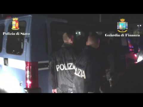 Catania, l'arresto degli scafisti