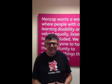 Lloyd tells a joke about a sick wizard - Mencap's comedy competition 2013