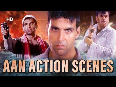 Aan Men At Work - Best Action Scenes - Akshay Kumar | Suniel Shetty